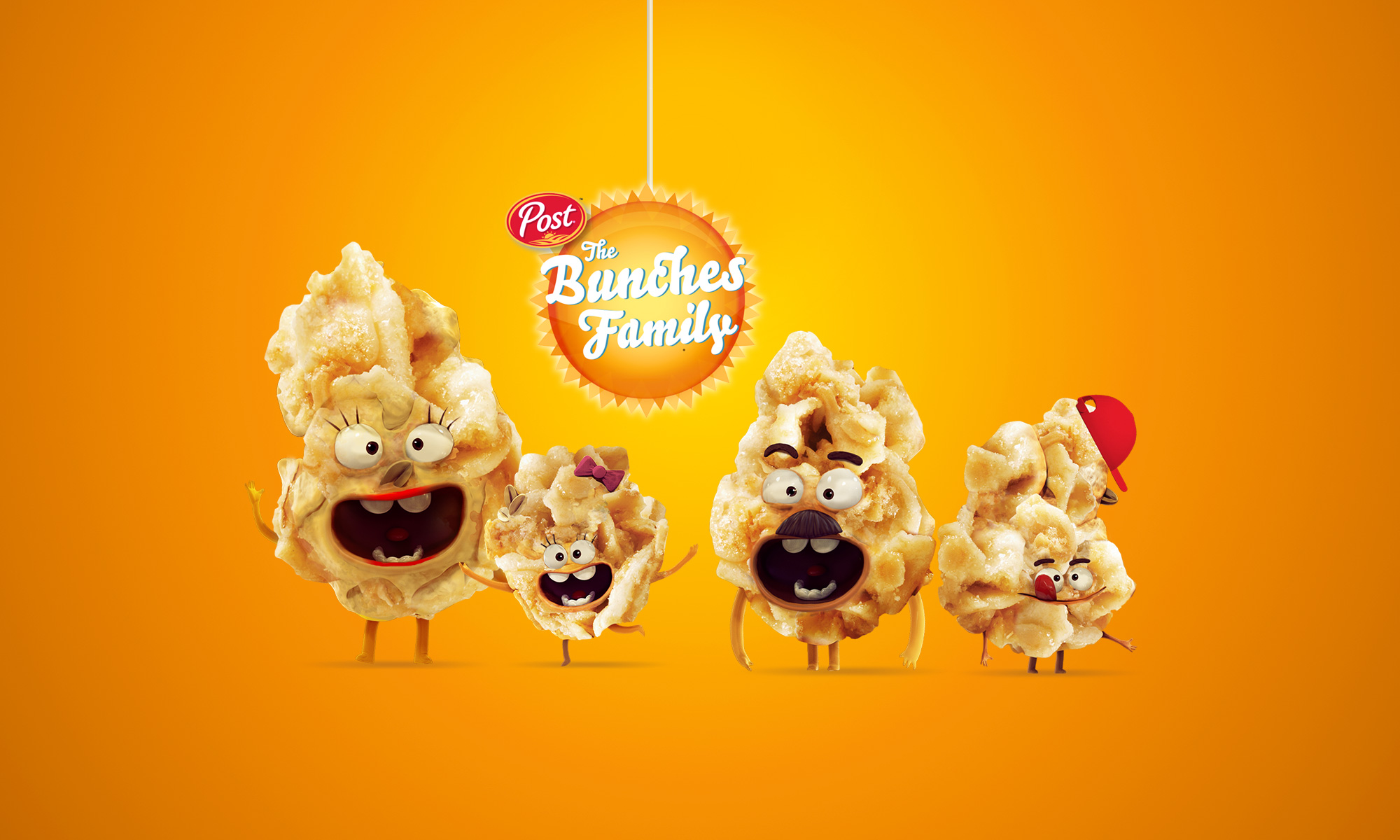 Honey Bunches of Oats Character Creation, Digital and Social Media